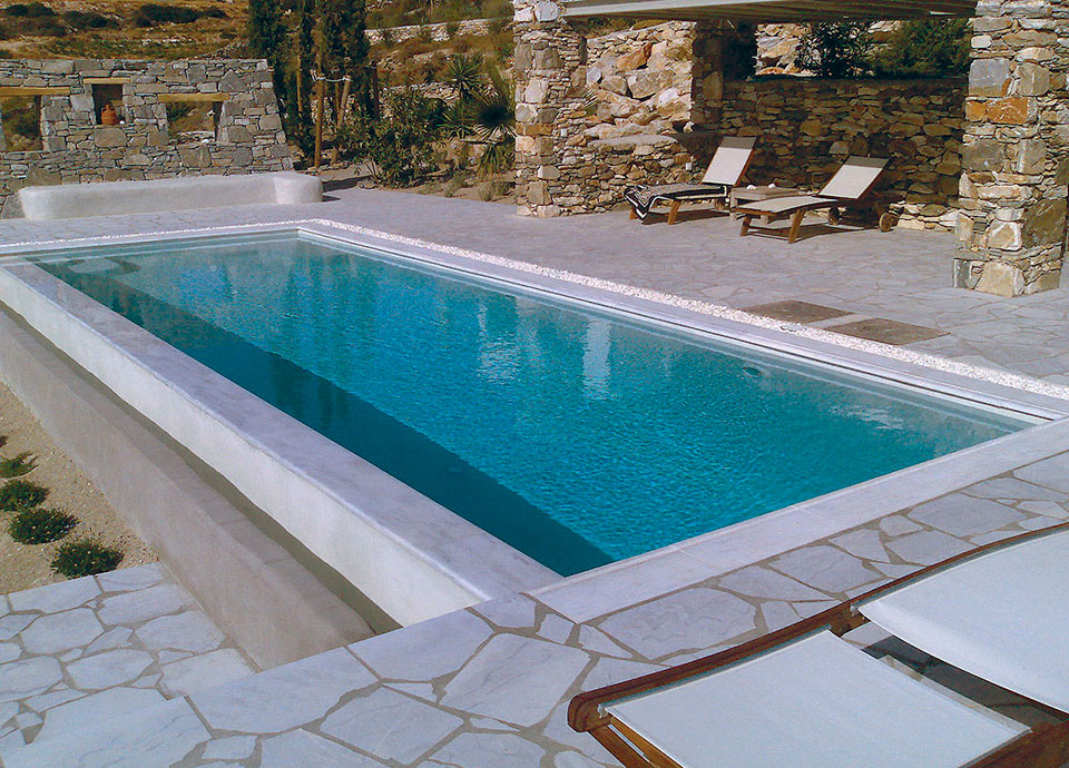 Secrets of a swimming pool