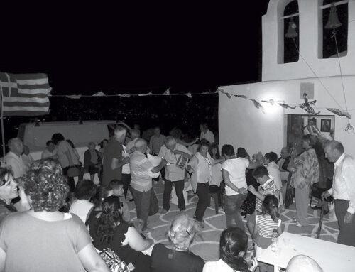 Feast in Paros