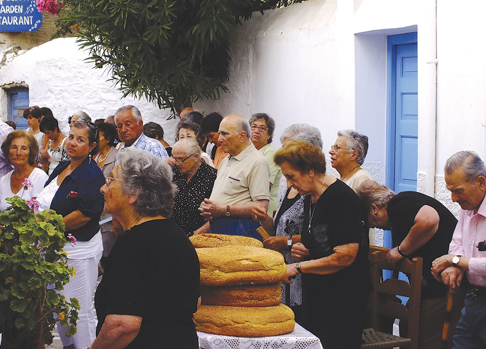 The Celebration of Saint Fanourios in Paroikia
