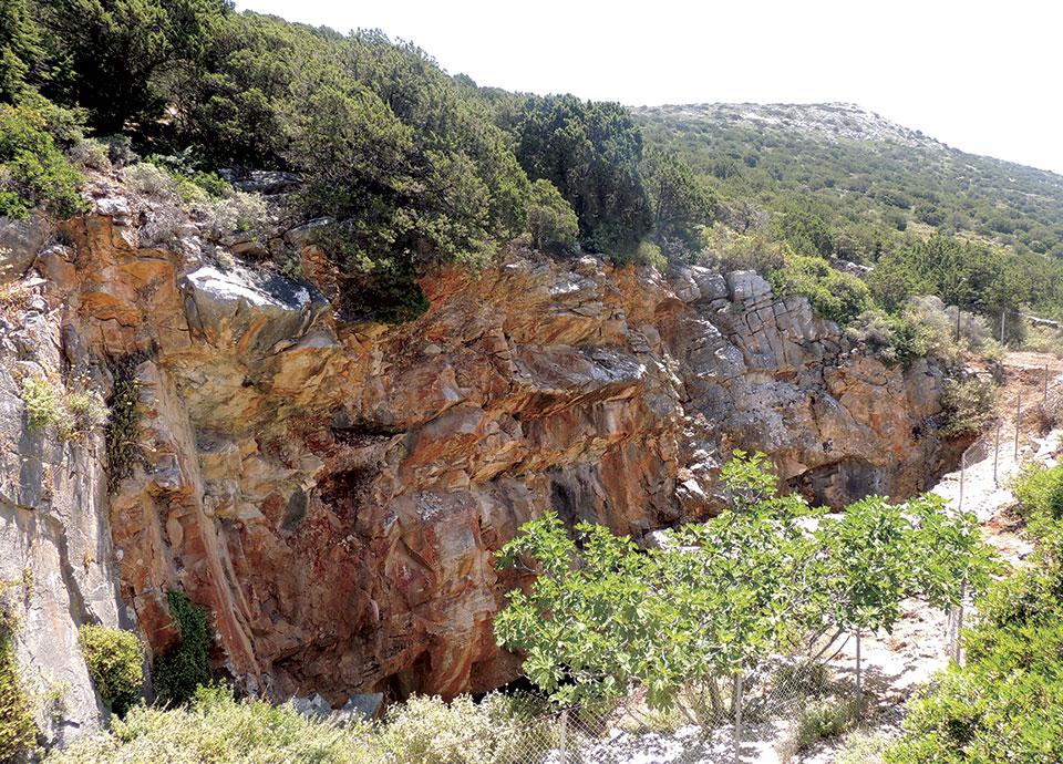 Τα αρχαία λατομεία μαρμάρου της Πάρου